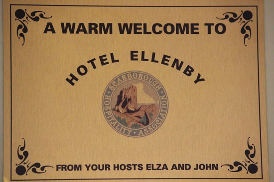 The Ellenby: the poster at the living room