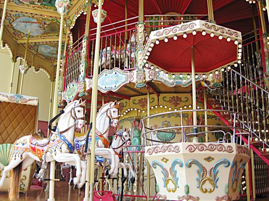 Fun World: 2-Story Carousel imported from Italy