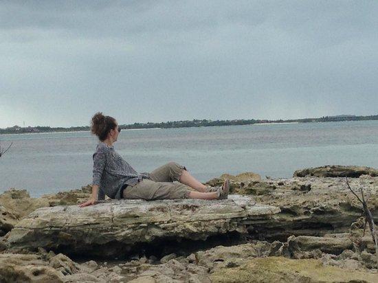 Melia Buenavista: Promenade sur le bord de la mer
