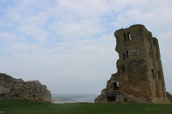 Scarborough Castle: the castle
