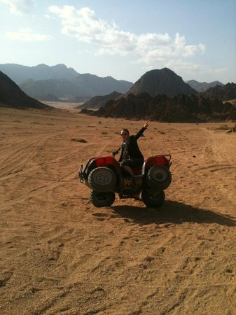 Sinai Safari Adventures : Some pitstop fun!