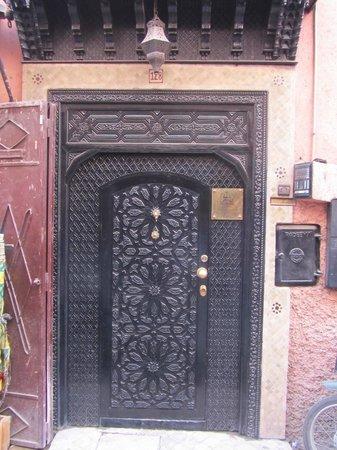 Riad Nesma : Puerta de entrada