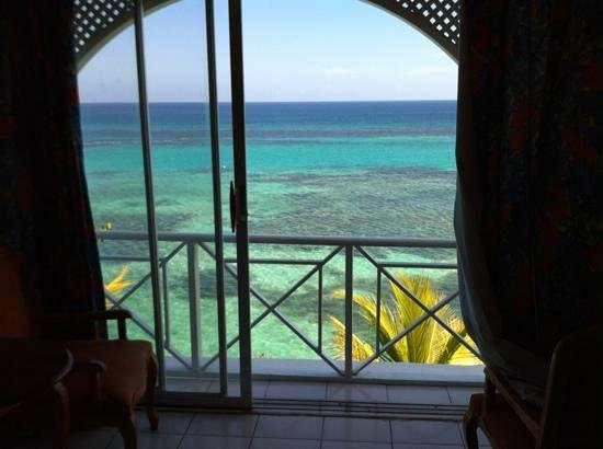 Hibiscus Lodge Hotel : view from ocean view room