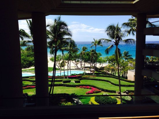 Hapuna Beach Prince Hotel : View from the Lobby!