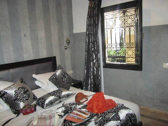 Riad Nesma: Dormitorio