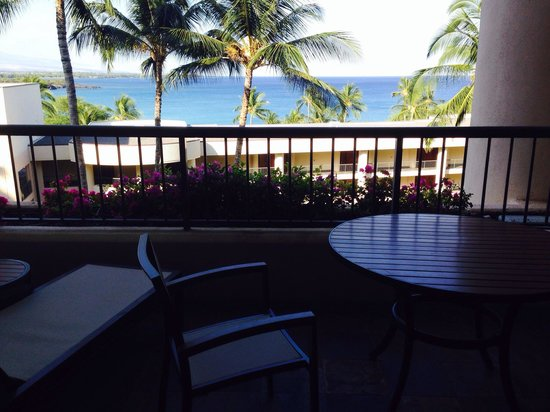 Hapuna Beach Prince Hotel : View from our room!