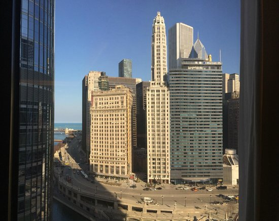 The Langham, Chicago : View from room CL103