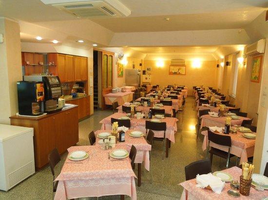 Hotel Blue Ribbon: la sala da pranzo