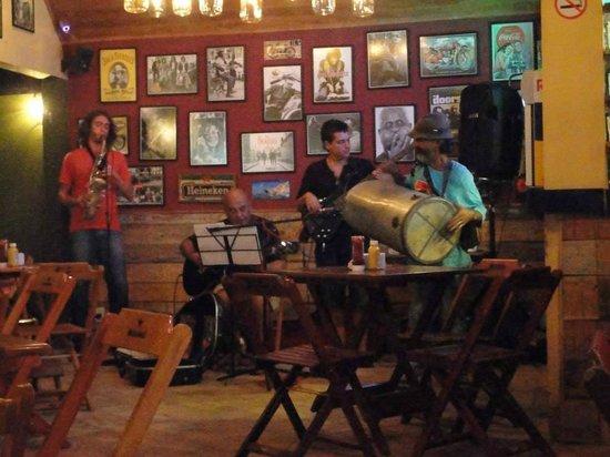 Arraial D'Ajuda Eco Resort: Lanchonete na Rua do Mucugê