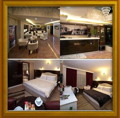 Envoy Otel: Lobi Resepsiyon Standart ve Suit Odamız