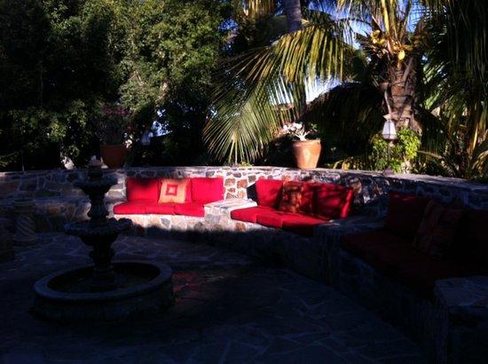 Todos Santos Inn: Courtyard