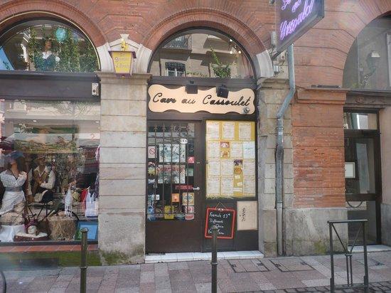 La Cave au Cassoulet : l'entrée