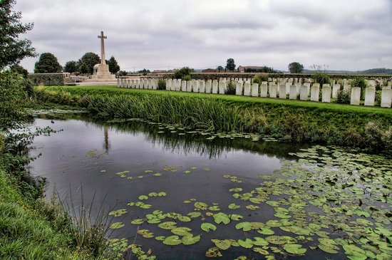 Bedford House Cemetery, Ypres.