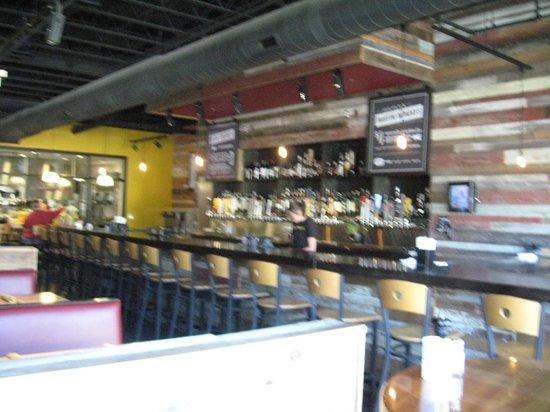 Sunspot Restaurant: Bar seating
