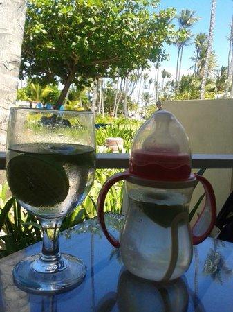 Grand Palladium Punta Cana Resort & Spa: Restaurante Arrecife, al lado de la playa. Espectacular vista!
