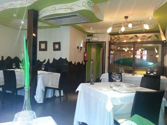 Casa Amparo: Comedor del restaurante