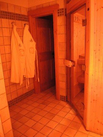 Park Chalet Village : Sala relax - spa