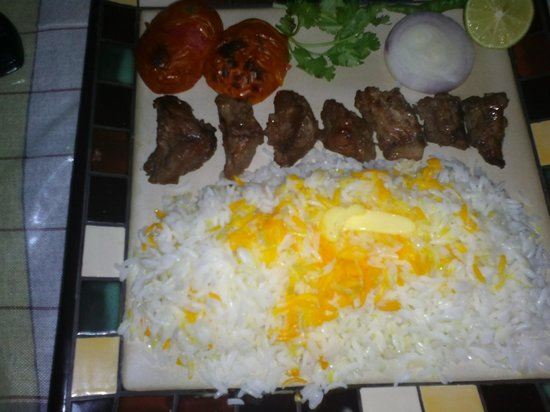 Chattanooga Iranian Barbeque Restaurant: chenje kebab