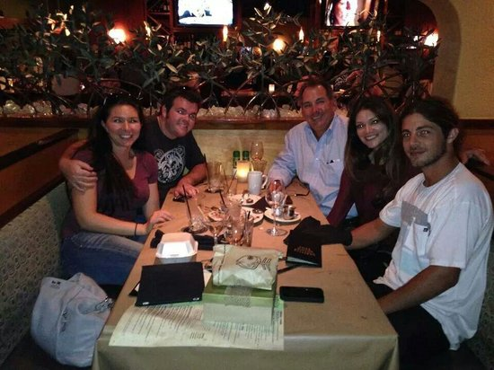 Bonefish Grill: The whole gang enjoyed dinner
