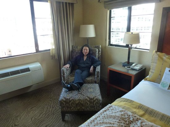Paramount Hotel : In the corner suite