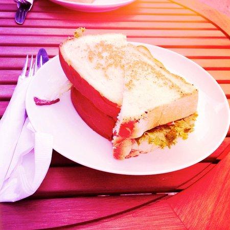 Tuckerbox: My chicken peso/mayo sandwich.
