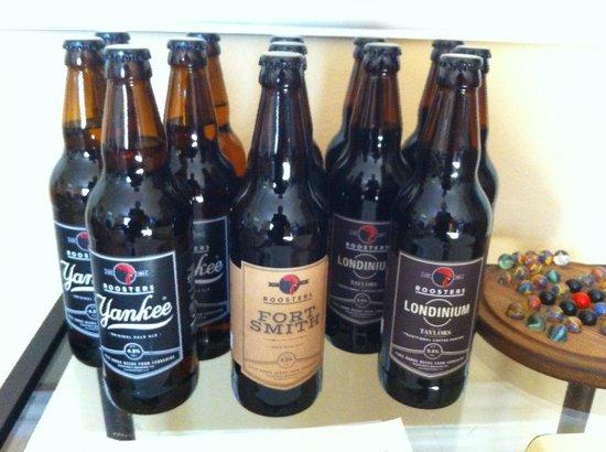 Newton House: Honesty bar local brews
