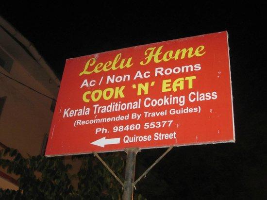 Leelu's Homestay: DA waren wir