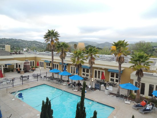 Four Points by Sheraton San Rafael: View from our room