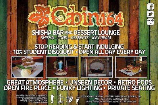 Cabin 164 Dessert & Shisha Lounge