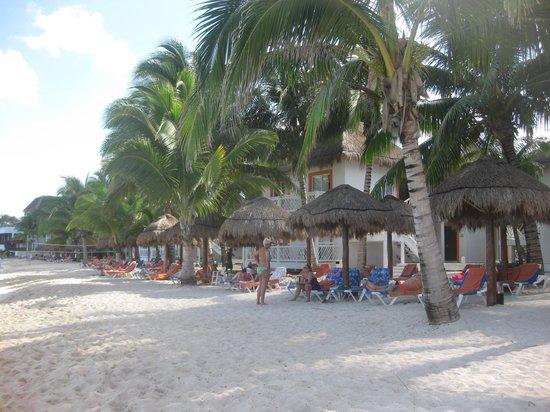 Sunscape Sabor Cozumel: beach area
