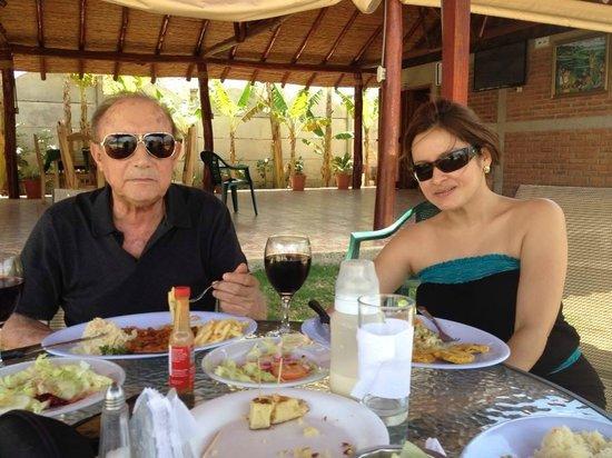 Hotel Brial Plaza: Gerente / Dueño y esposa