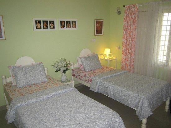 Bella Art & Meditation House: unser Zimmer