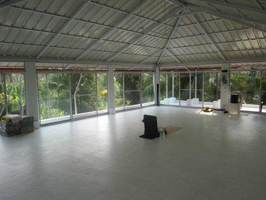 Bella Homestay: Yoga-Bereich auf dem Dach