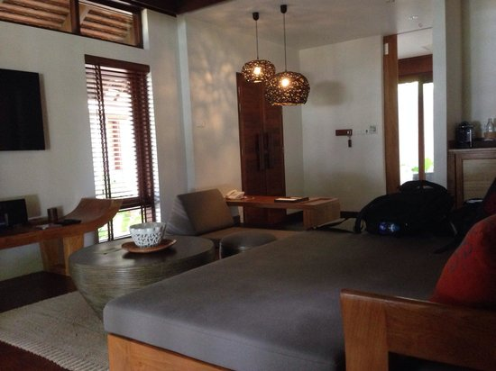 The Tubkaak Krabi Boutique Resort: Day bed/ sofa.
