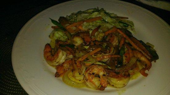 Swordfish Restaurant and Bar: Shrimp Dish