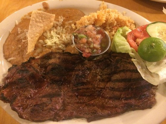 Las Vigas Steak Ranch: Carne Asada