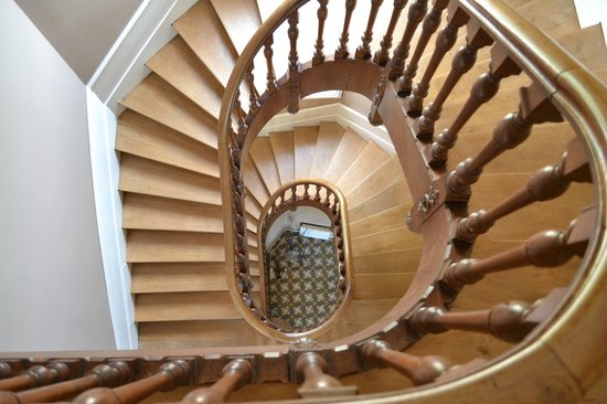 Chateau de Chanteloire : THE staircase