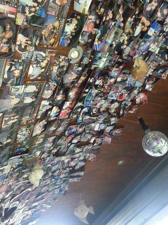 Miramare, Italy: Il soffitto....