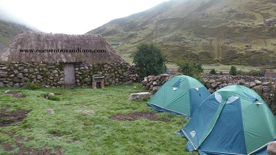 Encuentros Andinos : Camping in Incan communities