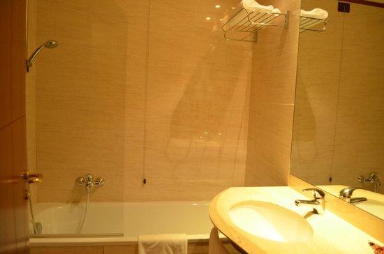 Hotel Capannelle: ben pullito il bagno