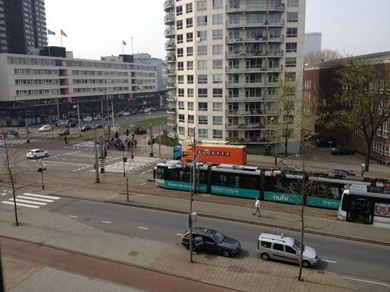 Inntel Hotels Rotterdam Centre: View from room on the 5th floor