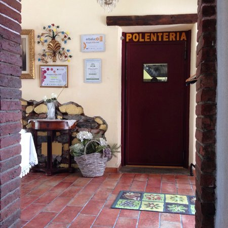 Cantina Pane Vino - Ca dla Pulenta: ingresso cucina