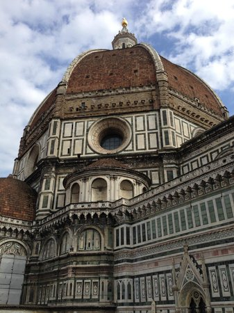 Hotel Duomo Firenze: The Dom from the balcony