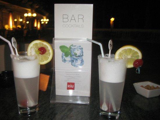 Hotel Riu Palace Maspalomas: Irish coffee from the bar