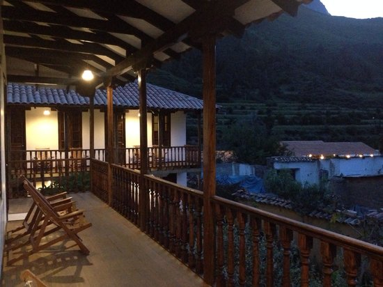 El Albergue Ollantaytambo: Outside my room