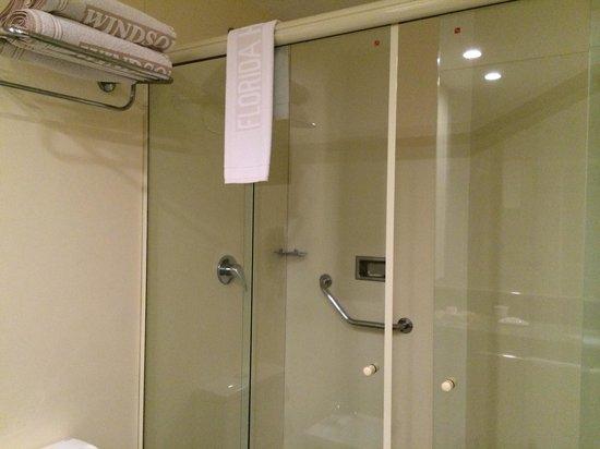 Windsor Florida Hotel : Shower