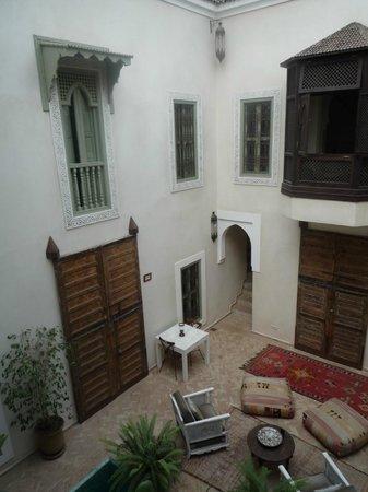 palacio de las especias: a corner of the inner courtyard