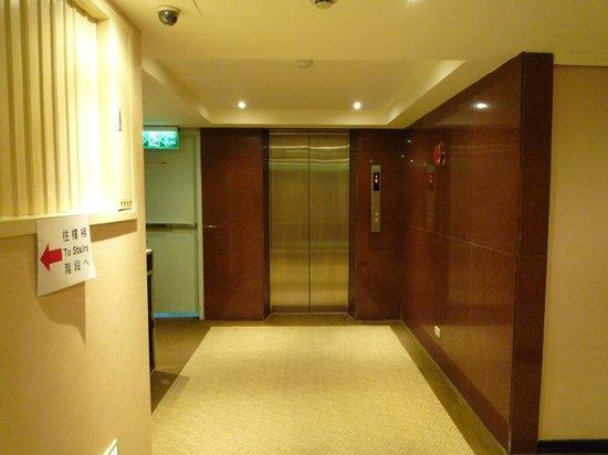 K Hotel (Taipei I): エレベーターホール