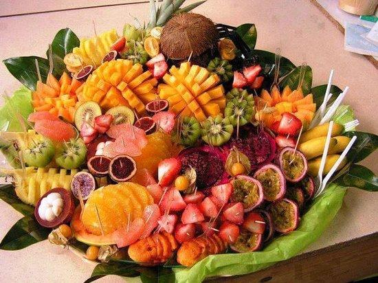 Riad Darija : ASSORTIMENT DE FRUITS