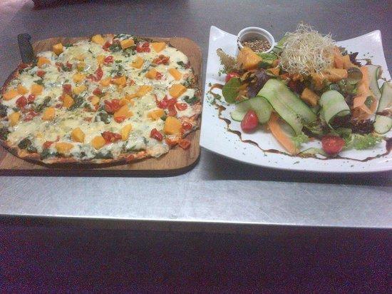 Da Vinci's on Kloof: Great veg options ;)